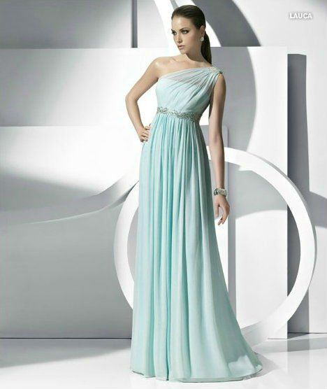 One Shoulder Evening Dress Formal 2012 Wholesale Retail
