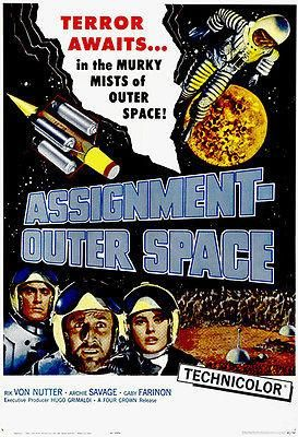 Assignment Outer Space - 1960 - Movie Poster | Space movie ...