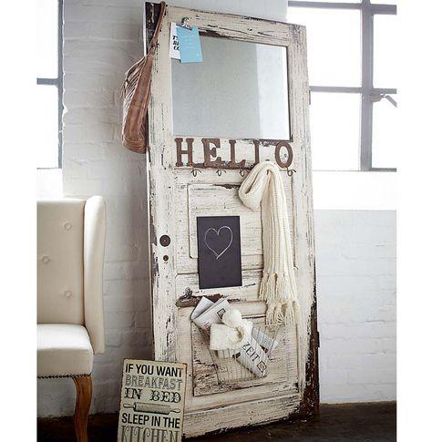 garderobe in der form einer t r impressionen living. Black Bedroom Furniture Sets. Home Design Ideas