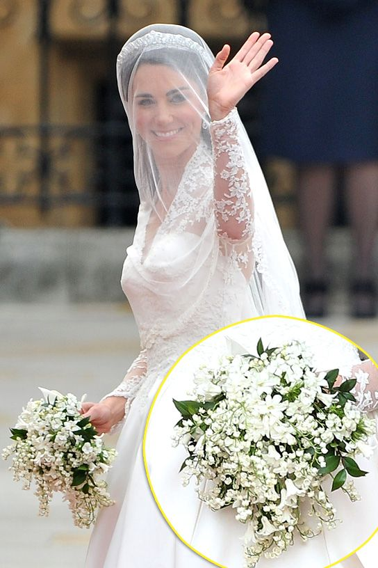 Kate Middleton S Wedding Bouquet Middleton Wedding Queens