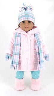 #America #American #americandolls #americangirl crafts #Girl #Wardrobe #Winter Make your own American Girl Winter Wardrobe #americandolls Make your own American Girl Winter Wardrobe