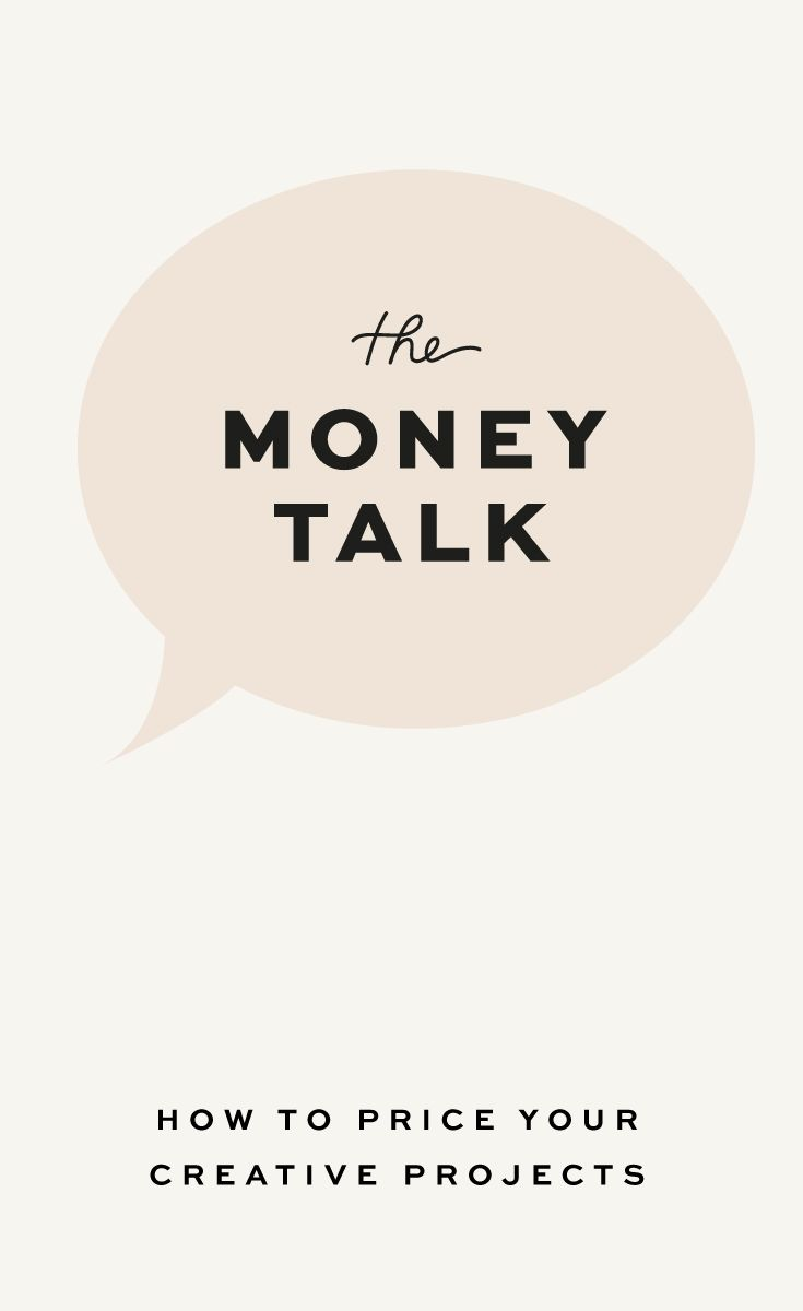 The Money Talk: How to Price your Creative Projects. #smallbusiness #pricingprojects #coasttocoaststudio