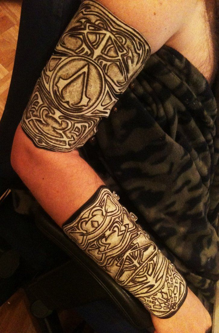 Assassins Creed Tattoos: Assassin's Creed Armour By Hellcattheassassin