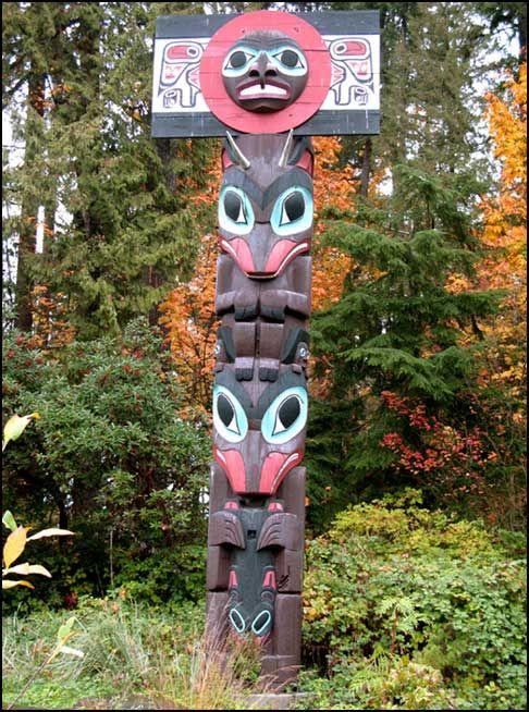 Assez Totem, Stanley Park | Totem | Pinterest | Totem amérindien AL29