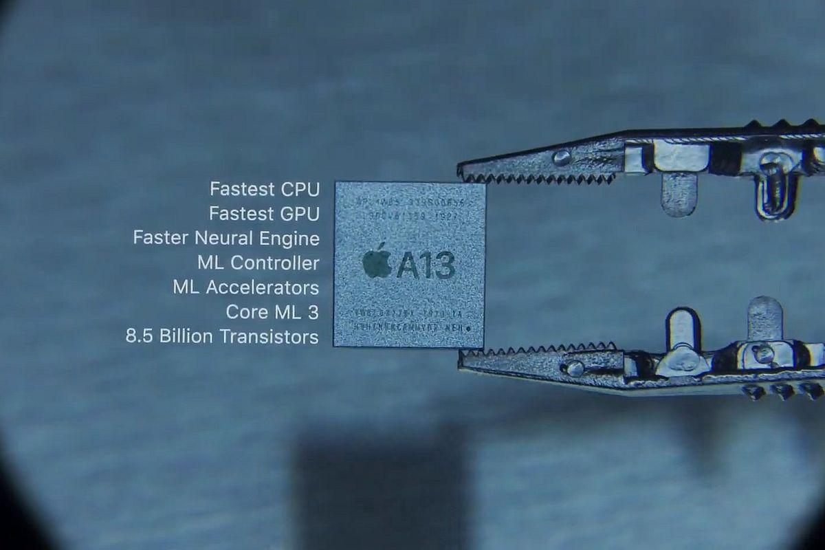 رقاقة معالج A13 Bionic تدعم هواتف الأيفون هذا العام بعمر أطول