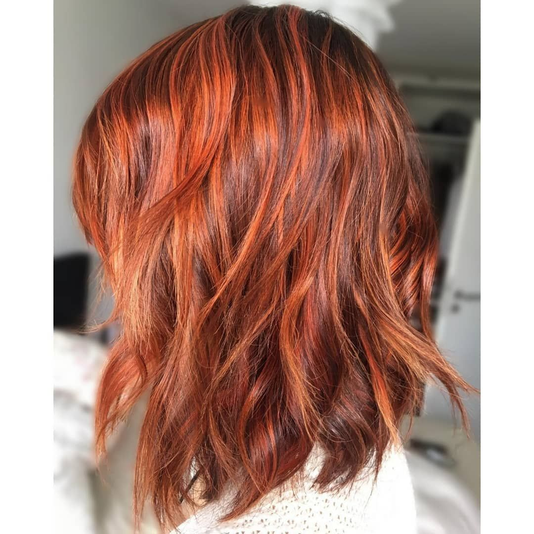 New Hair Where The Lion S Skin Does Not Suffice Put On That Of A Fox Hair Copper Orange Hairdresser Waves New Highlights Paulmitchell F