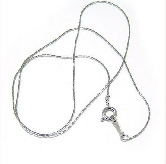 50pieces 410 mm 08 mm necklace chain thin chain with by aliyafang, $11.50
