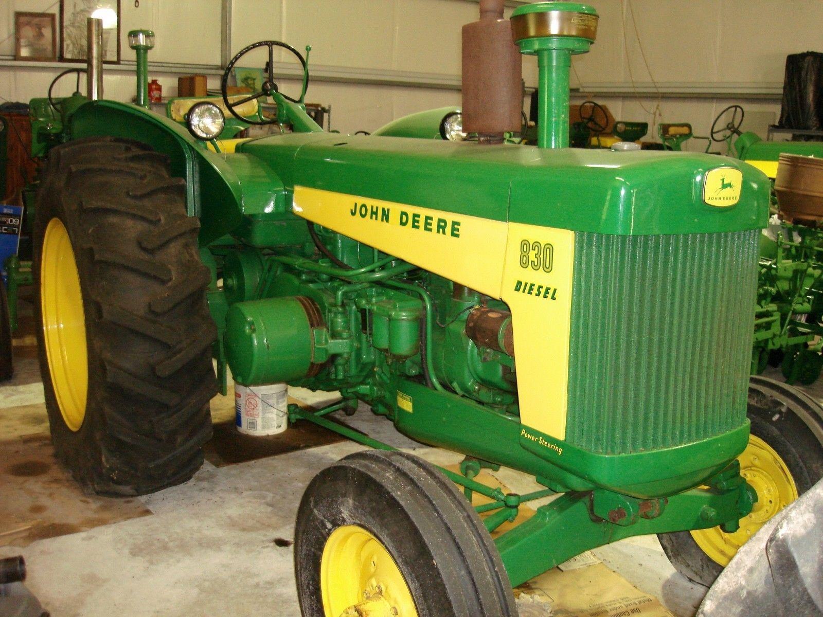 1959 John Deere 830 Tractor