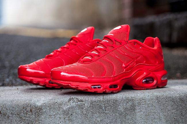 new styles cdeaf 14d16 ... Nike Air Max Plus Tuned 1 Lava Red is a brand new exclusive Nike Air Max  ...