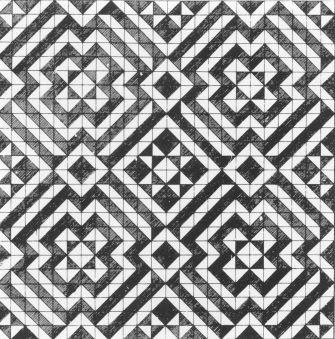 Truchet Truchet Truchet This Beautiful Pattern Is Made