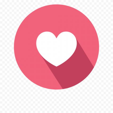 Facebook Flat Heart Love Like Icon Emoji React Icon Emoji Like Icon Icon