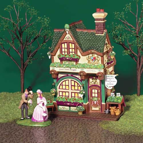Retired Collectible #55557, Heritage Village Collection, Dickens Village Series Dept 56 Lighted Ashbury Inn