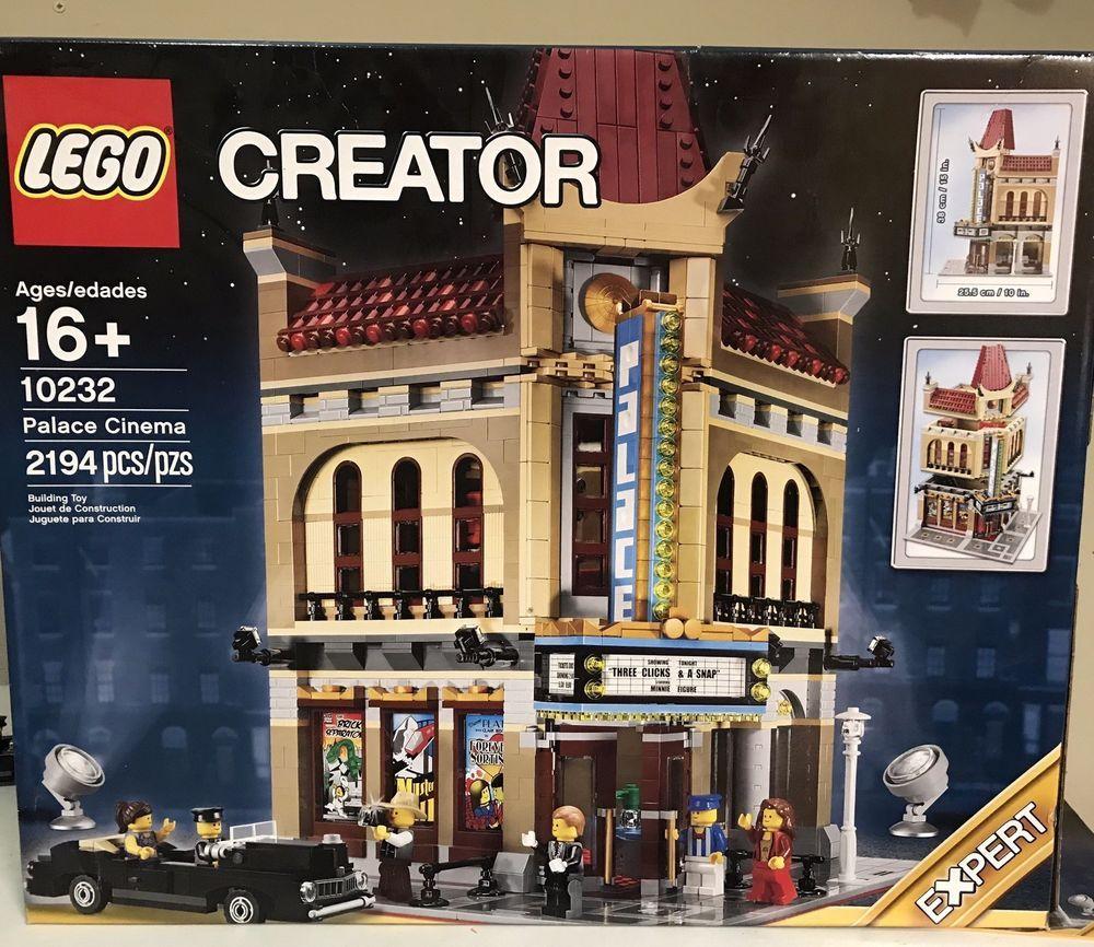 New Sealed LEGO Creator Palace Cinema Modular Building 10232 New!!