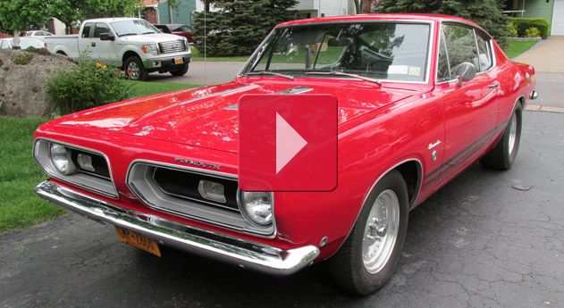 1968 Plymouth Barracuda formula S  Click to Find out more - http://fastmusclecar.com/1968-plymouth-barracuda-formula-s/
