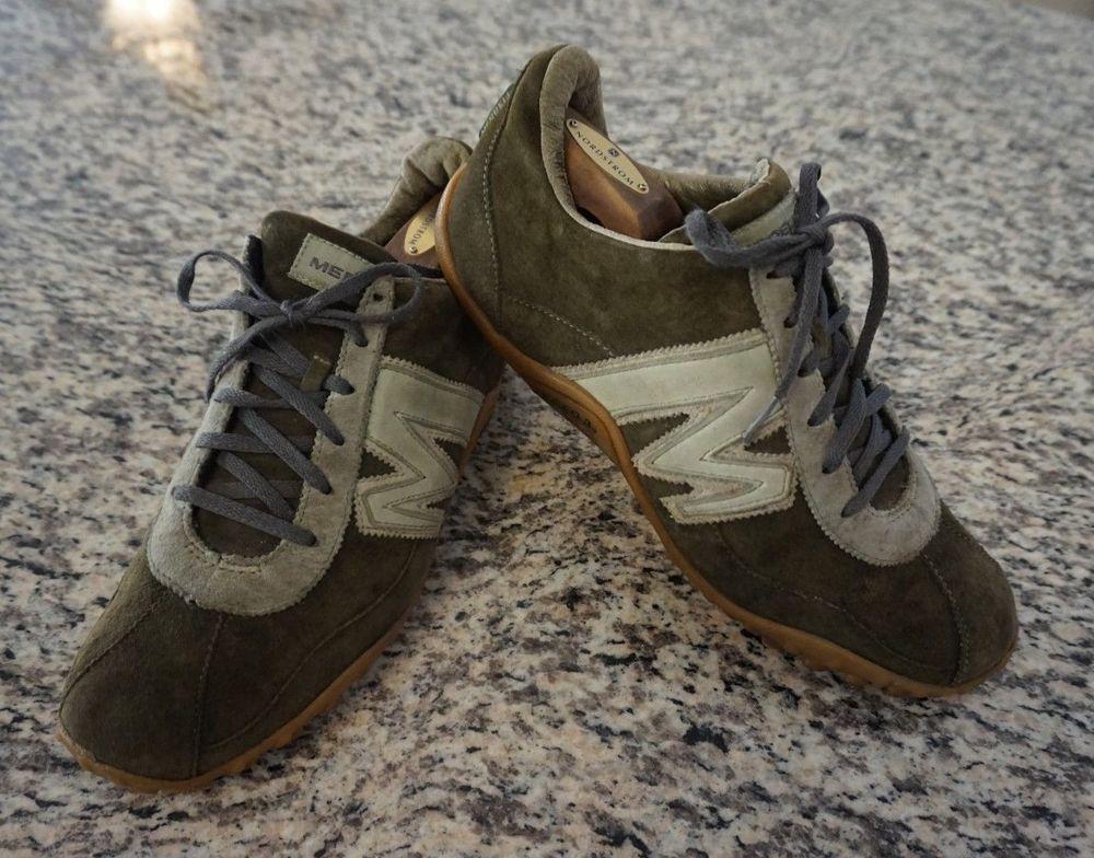 581bec84b9 Merrell Sprint Blast Java/Sage Leather Lace Up Shoes Men's size 10.5 ...