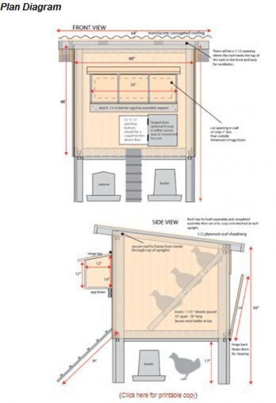 10 Free Chicken Coop Plans For Backyard Chickens | The ...