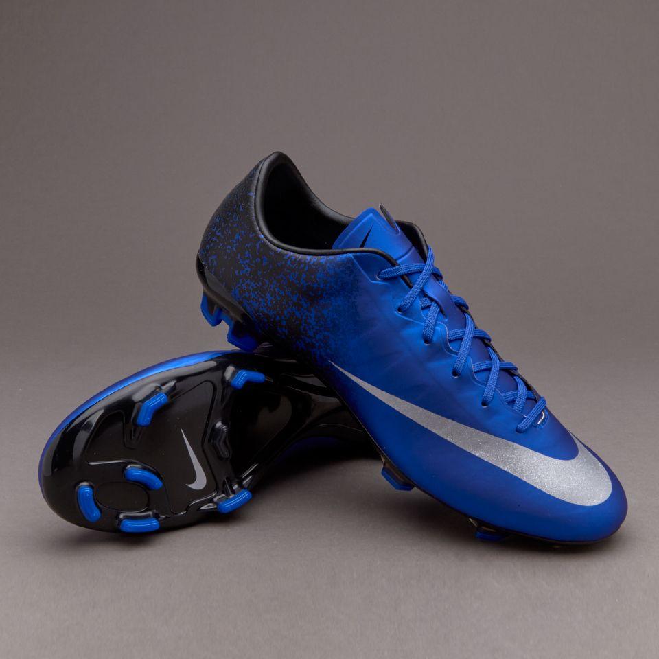 blue nike soccer boots nike racer