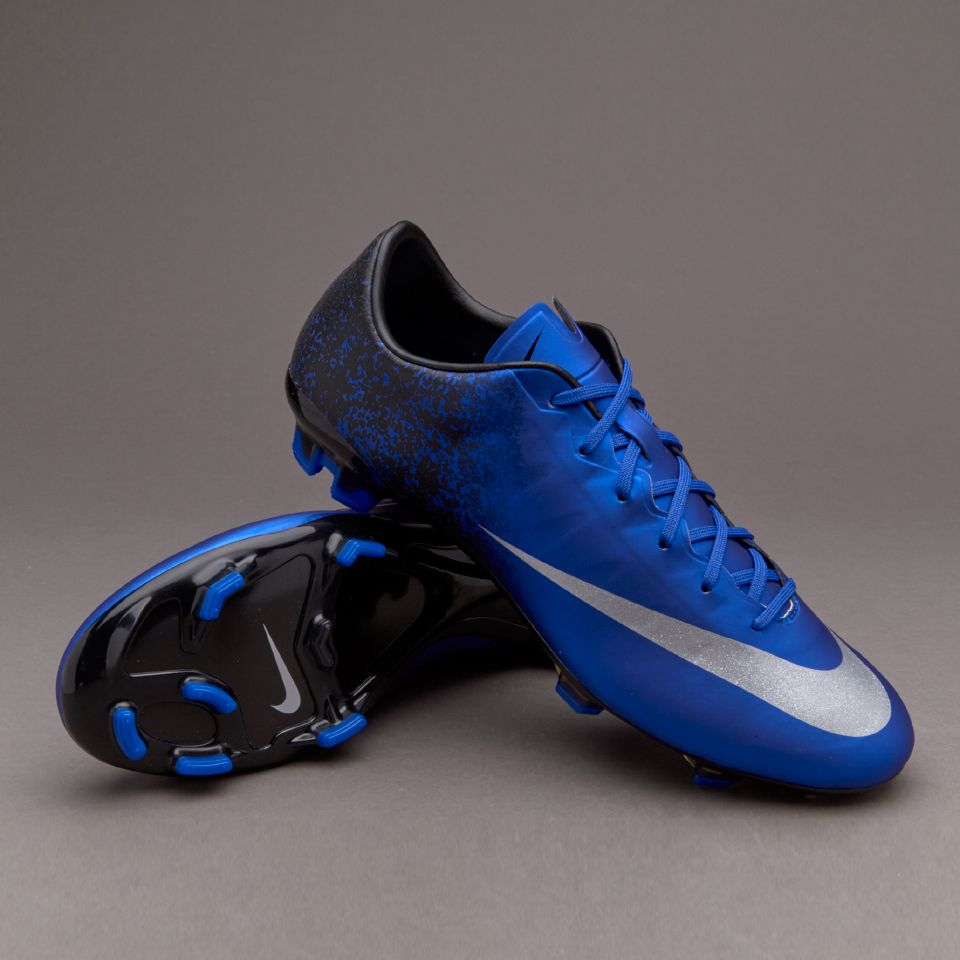 Nike Mercurial Veloce II CR FG - Deep Royal Blue/Metallic Silver/Racer Blue