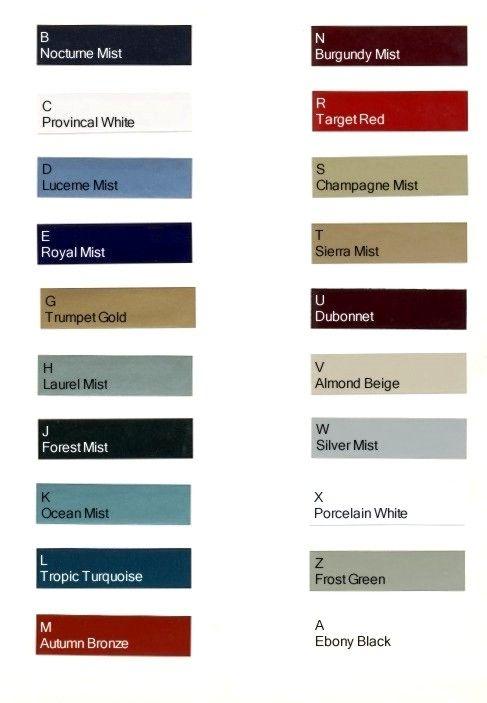 1966 oldsmobile toronado paint colors