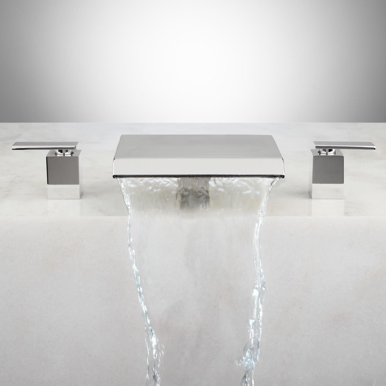 Lavelle Waterfall Roman Tub Faucet | Faucet, Tubs and Roman