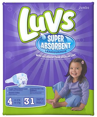 Luvs Super Absorbent Jumbo Pack