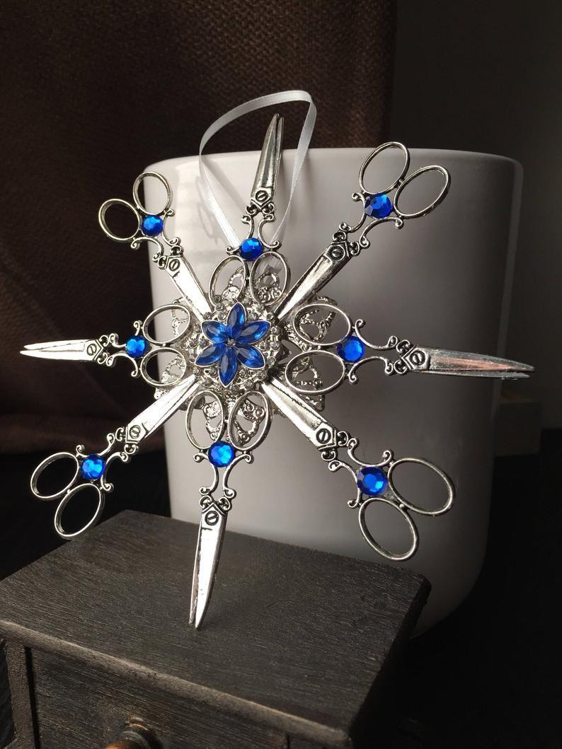 Hair stylist christmas ornament gift for hair stylist