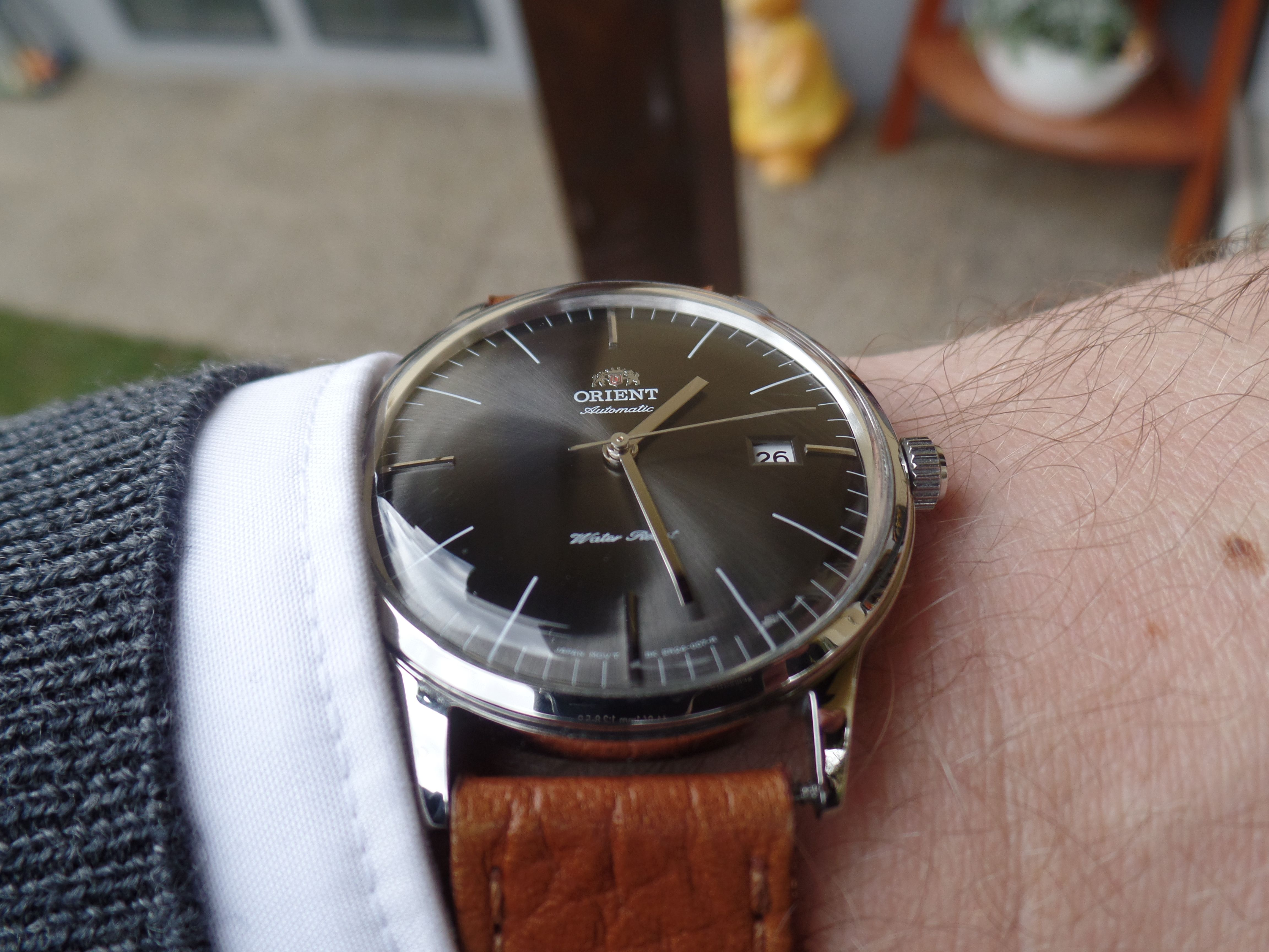 Orient Bambino Version 3 grey Mejores Relojes 92852c91a129