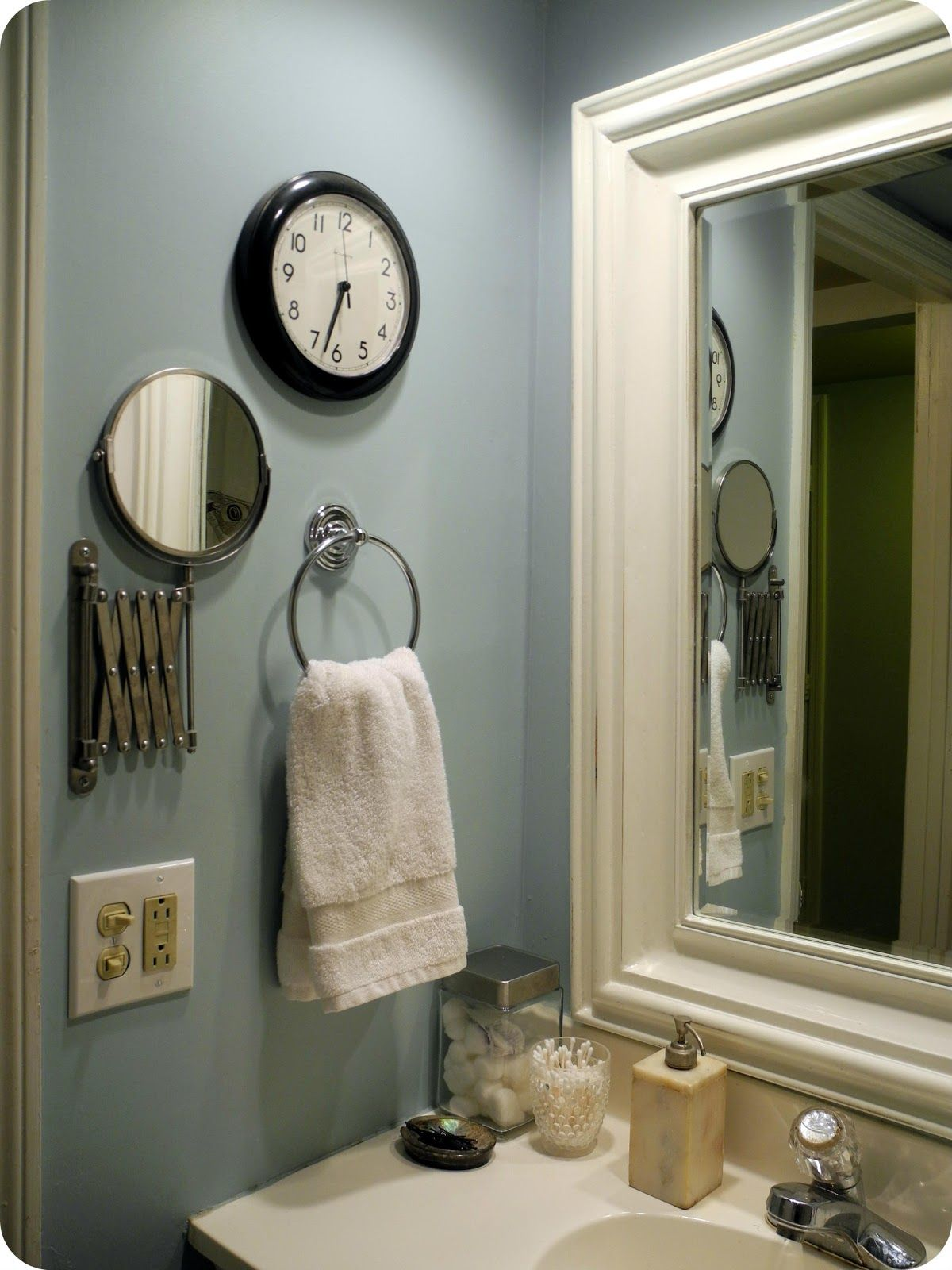 Spa Blue Bathroom - Images of bathrooms using subway tile since my bathroom is practically the size of a