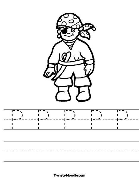 pirate coloring pages elementary - photo#2