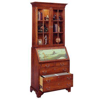 Jasper Cabinet 873-03 Arlington File Drawer Secretary Desk with ...
