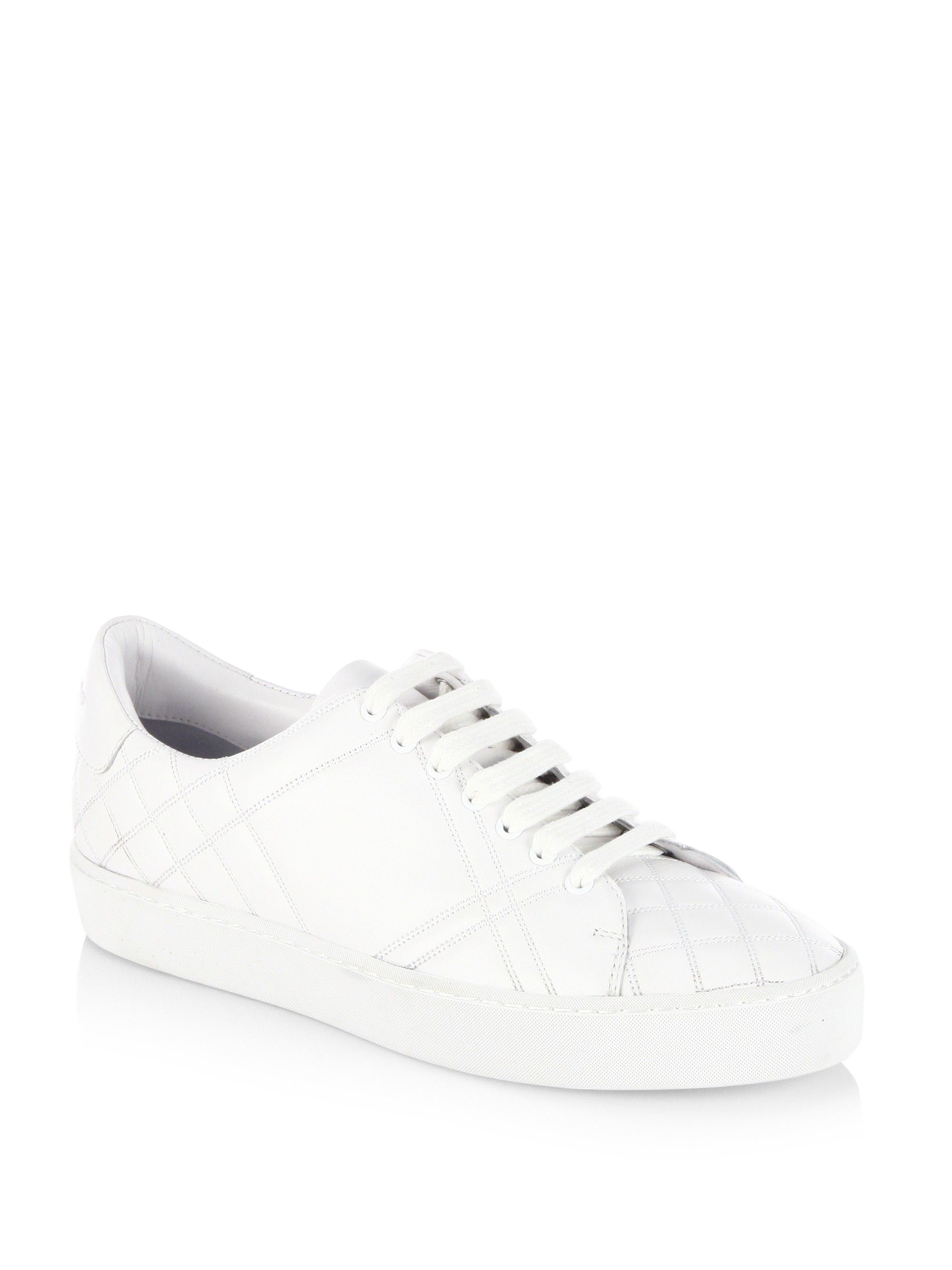 Westford Perforated Leather Low-top