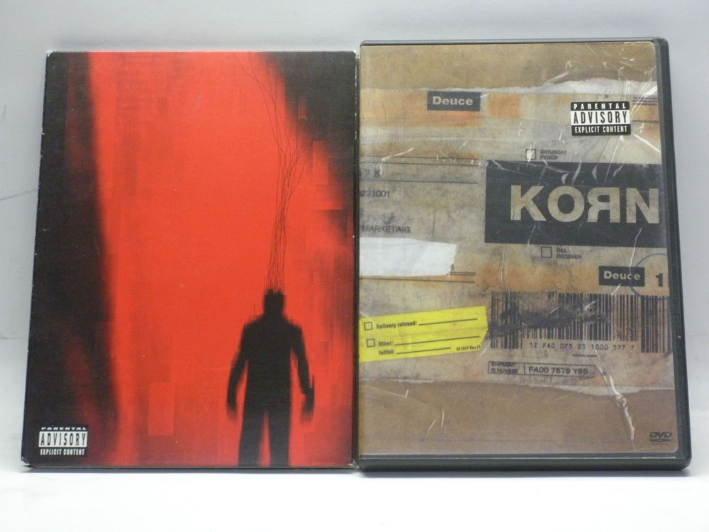 Lot of 2 DVD Nine Inch Nails Beside You In Time, Korn Deuce Used ...