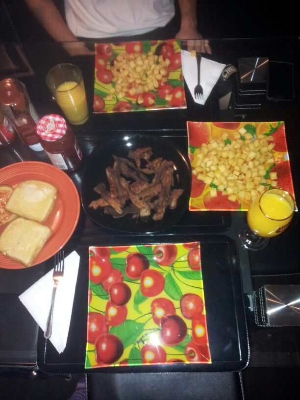 Oct 26 2013 - Breakfast with him