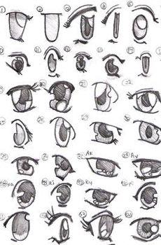 Resultados de la bsqueda de imgenes de google de httpwww how to draw manga eyes ccuart Choice Image