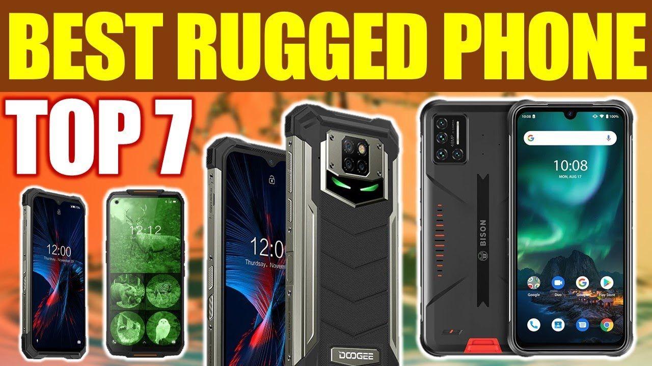 Top 7 Best Rugged Smartphones Review