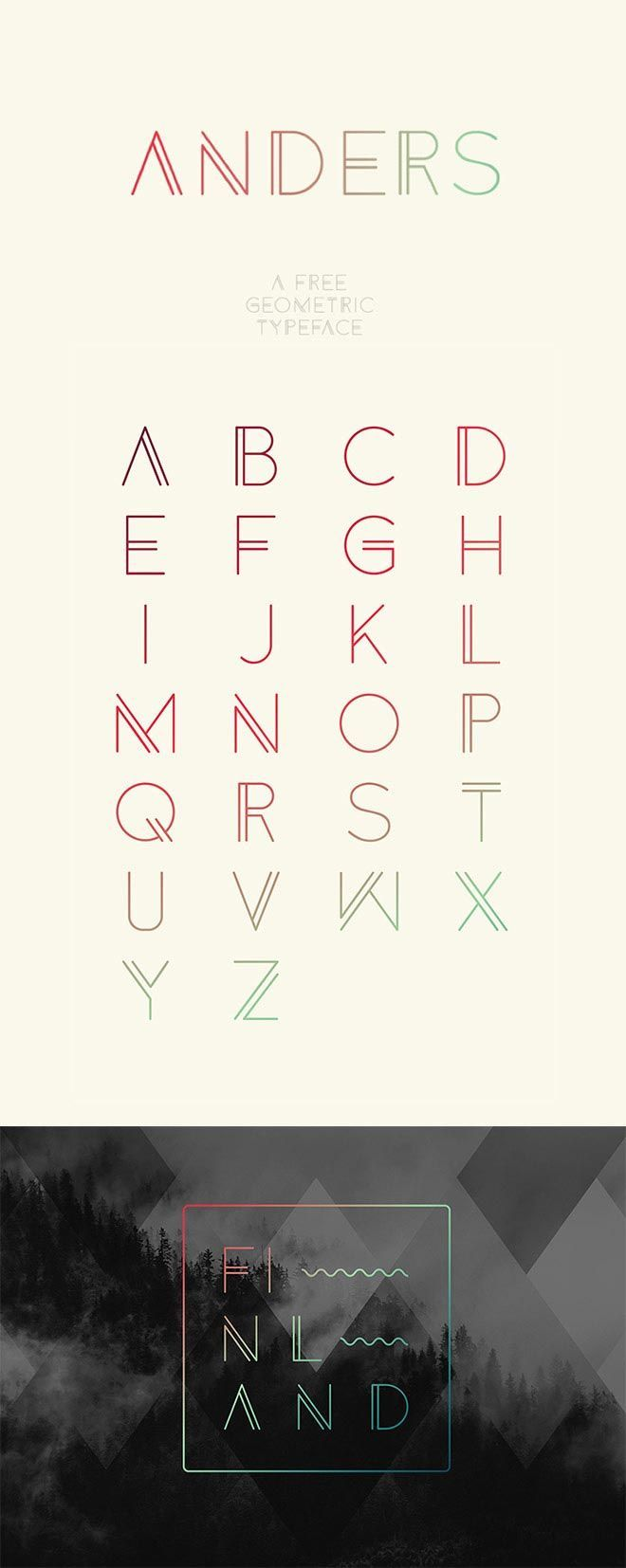 Quality FREE Fonts You Probably Don't Own, But Should! AndersAnders