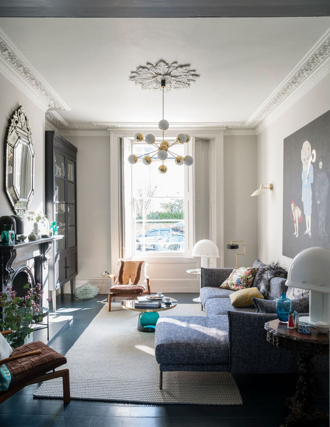 Step inside this glamorous five-storey terrace in ...