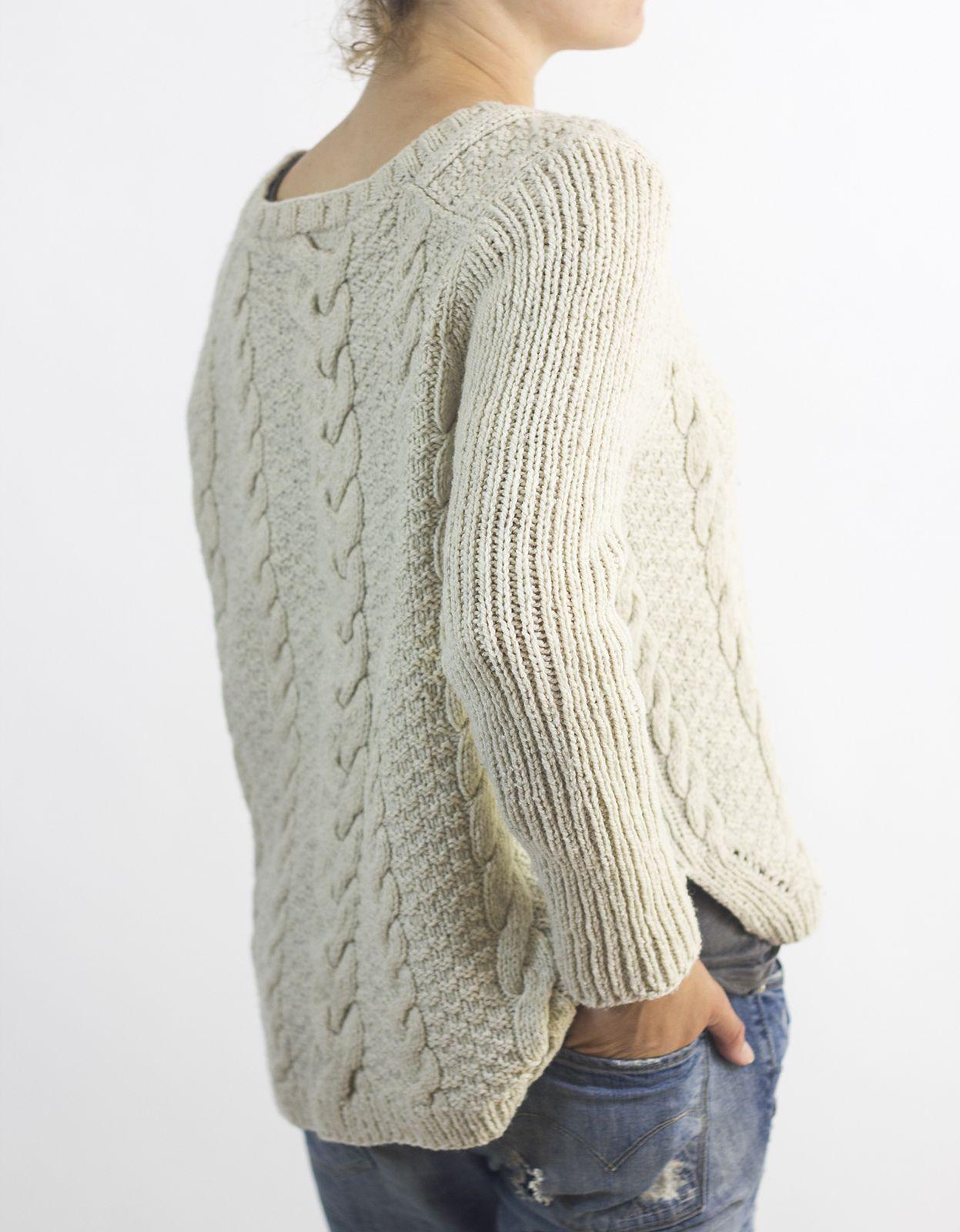 76a1885f315 Patron tricot pull - Laine et tricot