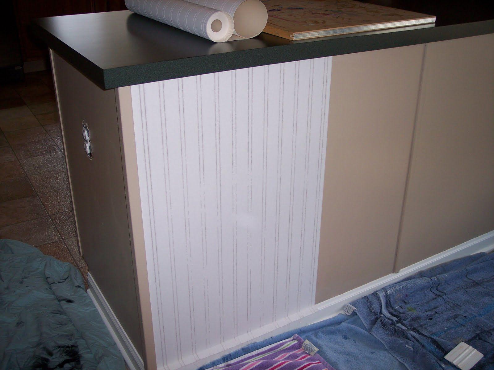 beadboard wallpaper backsplash Kitchen backsplash tile