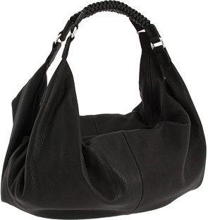 Love this simple, black hobo bag!