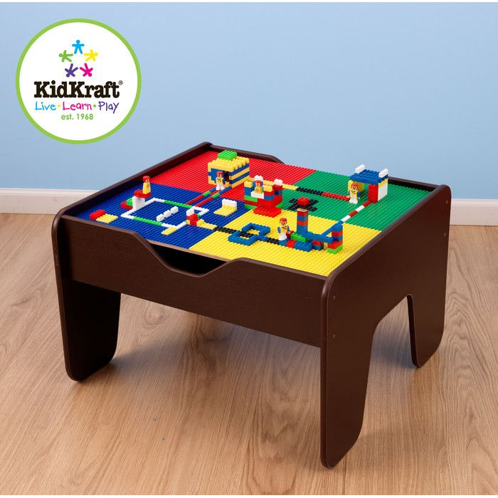 2 In 1 Kids Activity Table Room Lego