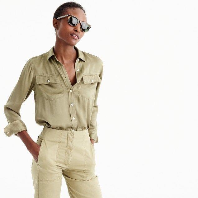7668770002e4f7 The 2011 Blythe shirt : Women shirts & tops | J.Crew | Casual Wish ...