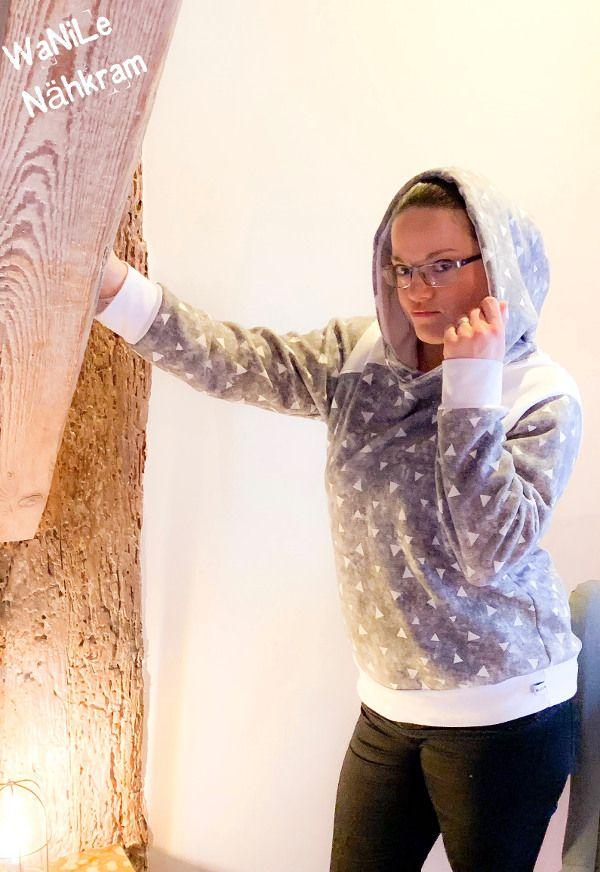Freebook: Schicker Pullover mit Riesen Kapuze mal etwas