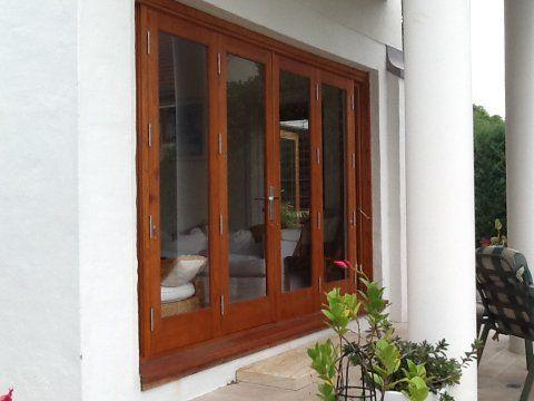 Doors & Pin by Simply Doors and Windows on Cedar Bifold Doors   Pinterest pezcame.com