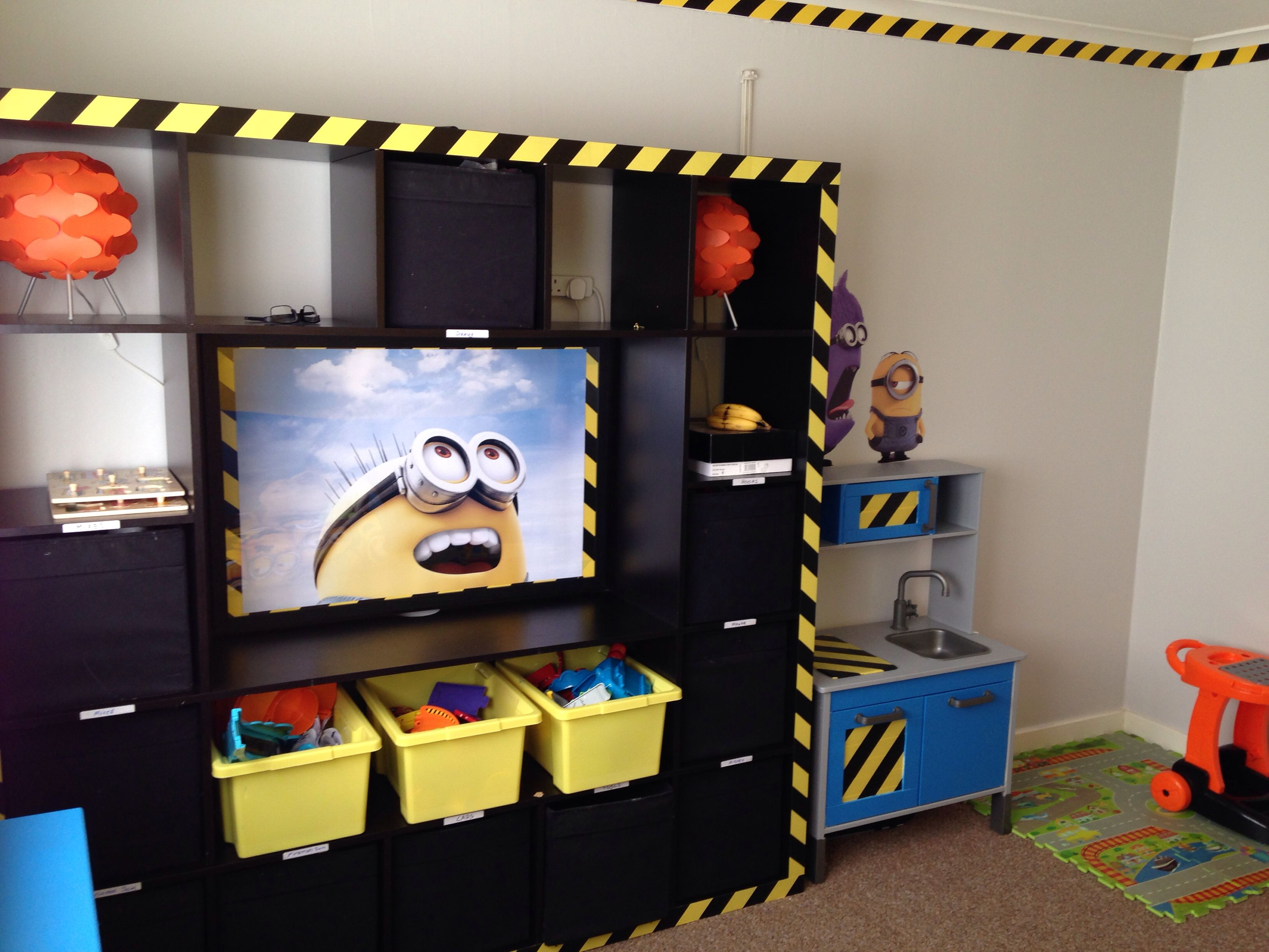 Minion Bedroom on Pinterest | Minion Room, Despicable Me ...
