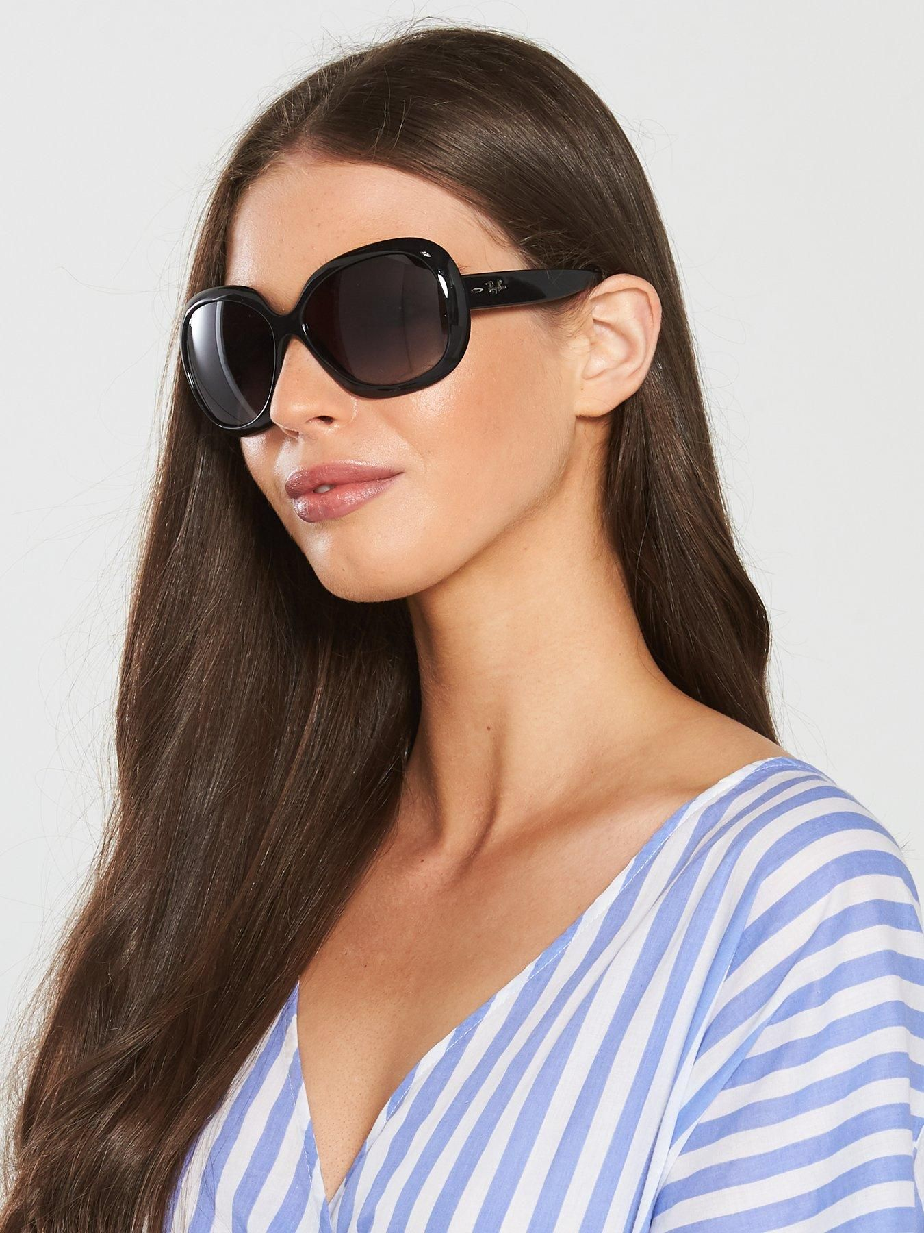 Rayban Jackie Ohh Ii Black Butterfly Sunglasses Butterfly Sunglasses Ray Ban Sunglasses Women Black Butterfly
