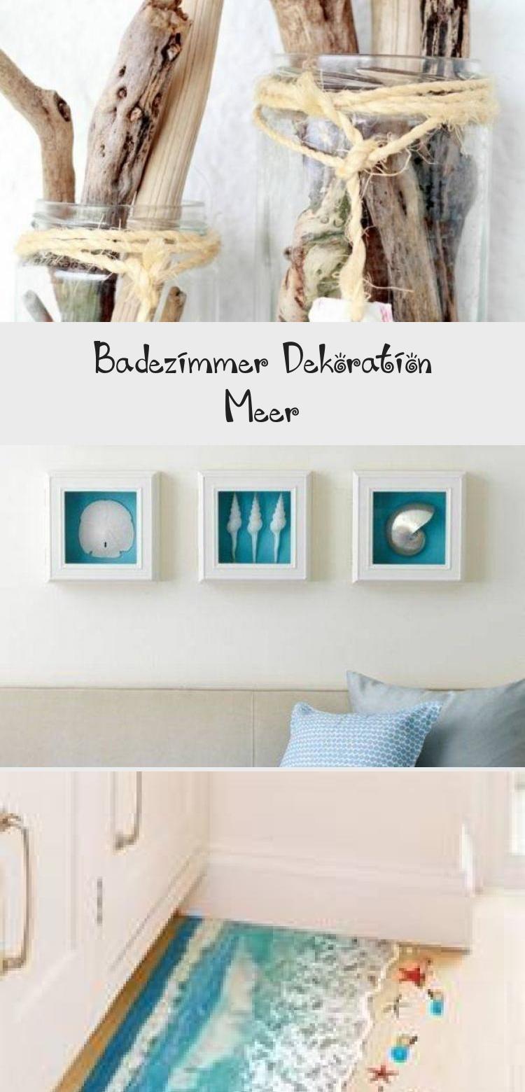 Badezimmer Dekoration Meer With Images Home Decor Decor Shelves