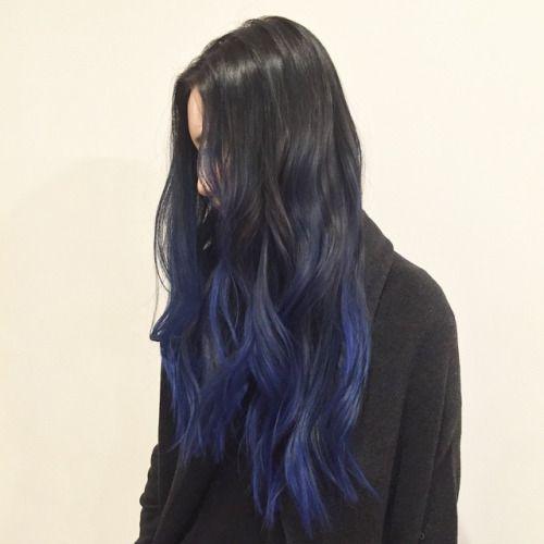 Ombre Blue Hair Tumblr | www.pixshark.com - Images ...
