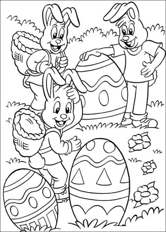 Ausmalbilder Ostern Malvorlagen Ostern Ostereier Farben