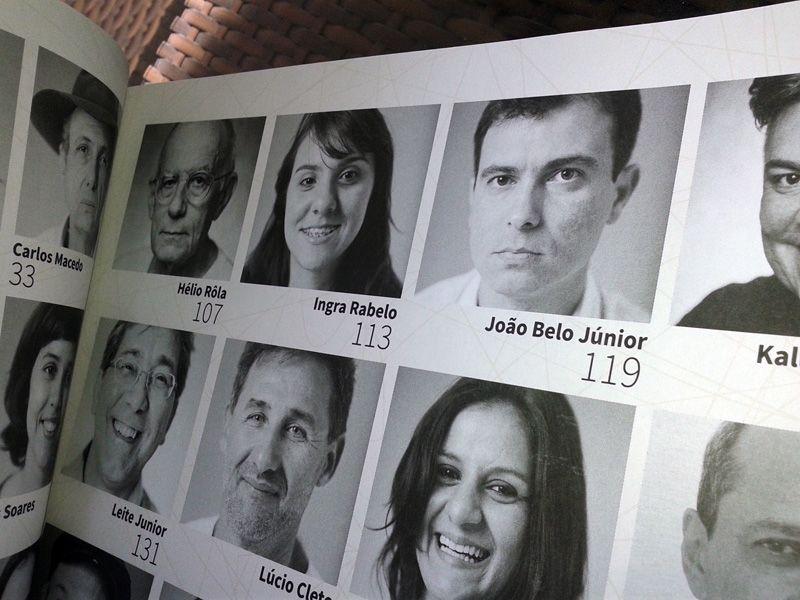 """Lançamento do livro 'PERFIS DE ARTISTAS CEARENSES"""", que ocorreu em 10/10/14 no Espaço O Povo de Cultura & Arte. Elaborado por Cecília Bedê , Júlia Lopes e Roberto Kennedy,Edições Demócrito ROcha."""